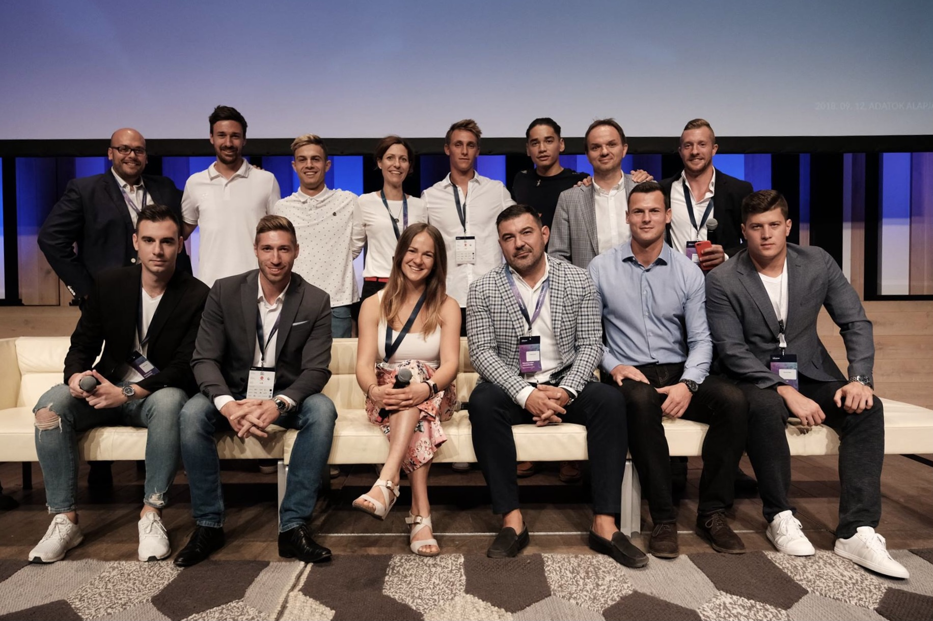 MMSZ Sportmarketing Tagozat csapata